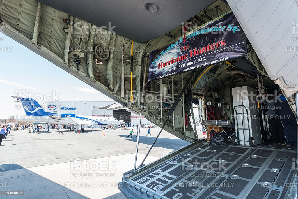 USAF Hurricane Hunters stock photo