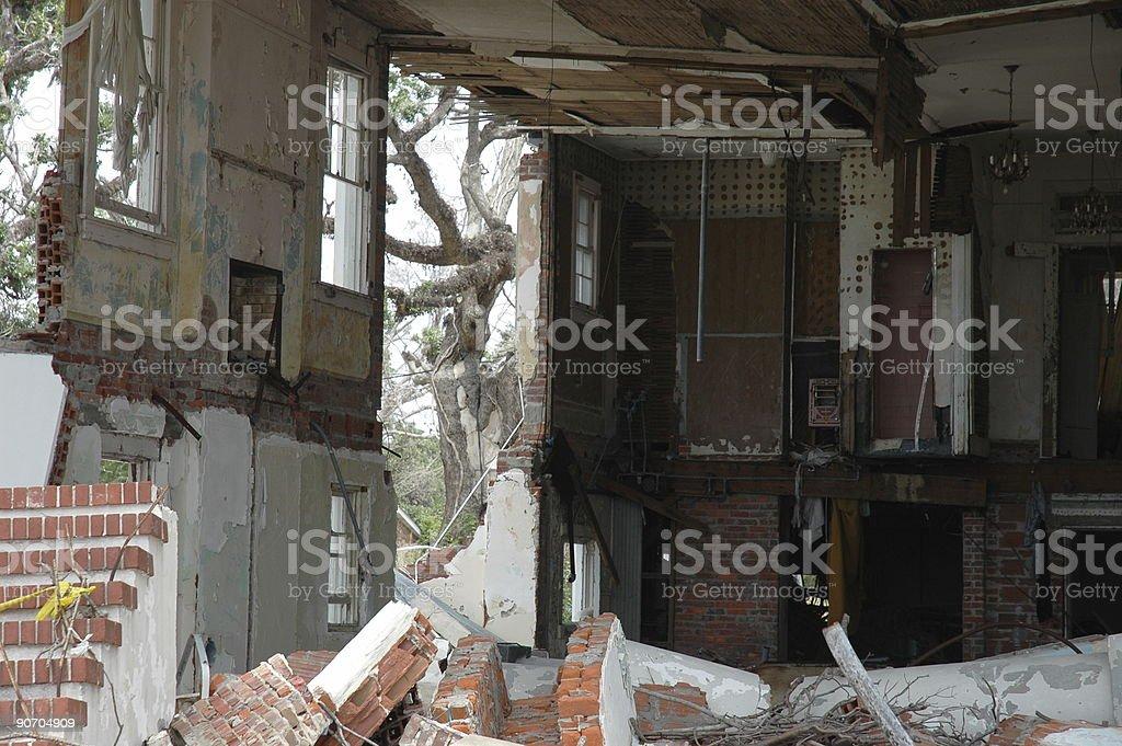 Hurricane Katrina royalty-free stock photo