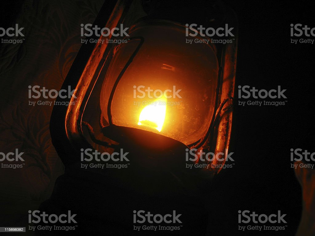 Hurricane lamp royalty-free stock photo