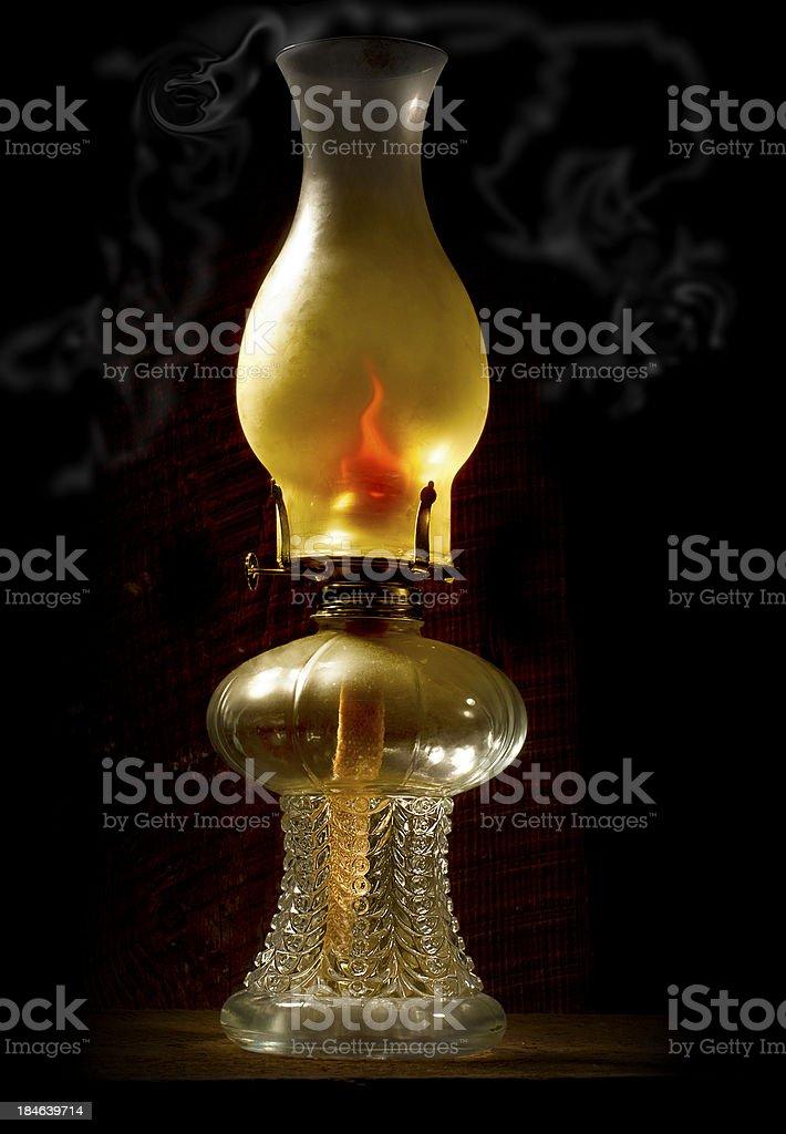 Hurricane Lamp stock photo
