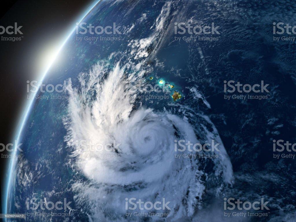 Hurrikan Lane – Foto