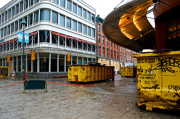 Hurricane Sandy Aftermath, 6 Weeks Later, Lower Manhattan, NYC