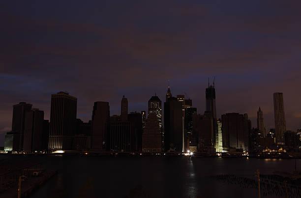 Hurrikan Sandy Manhattan Stromausfall zweite Nacht – Foto