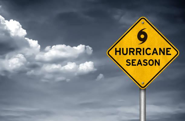 Hurrikan-Saison, die eingehenden – Foto