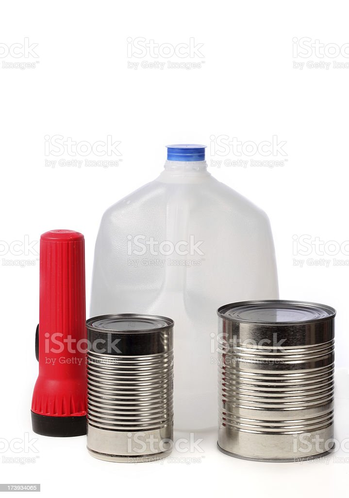 Hurricane Supplies   View images from same series royalty-free stock photo