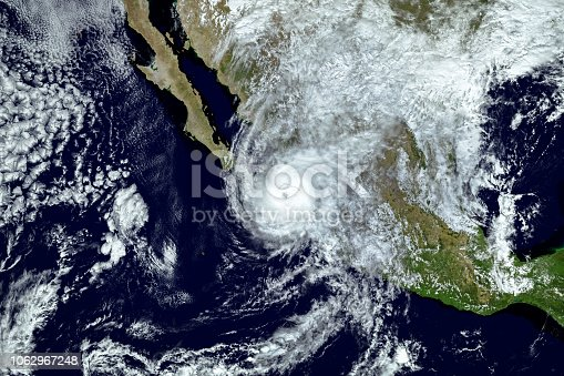 istock Hurricane Willa passed the Islas Marias as it closed in on Mexico mainland,  Elements of this image furnished by NASA.2018. 1062967248