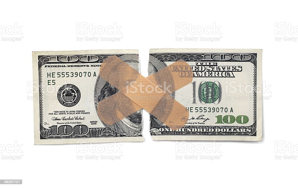 Hurting For Money royalty-free stock photo
