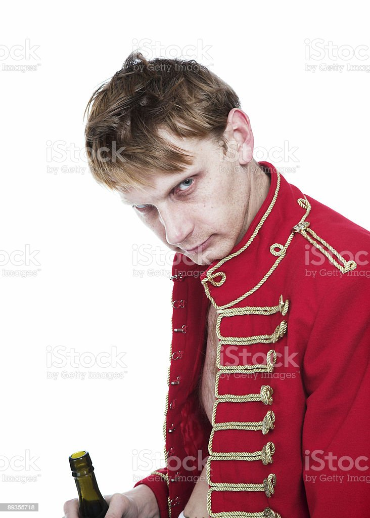 Hussar royalty-free stock photo