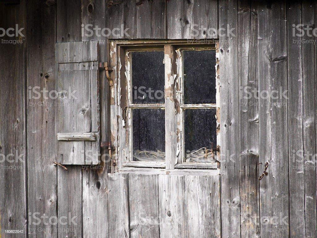 hut and window royalty-free stock photo