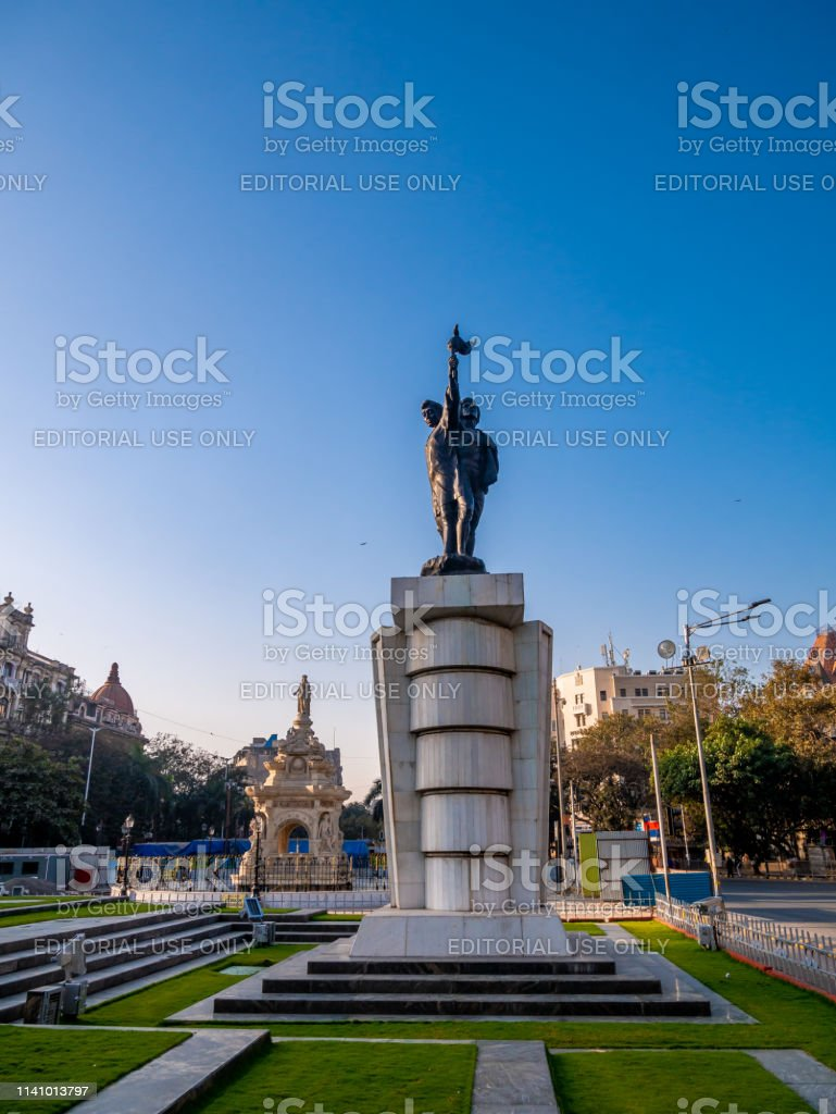 Hutatma Chowk and Flora Fountain, famous attraction of South Mumbai...