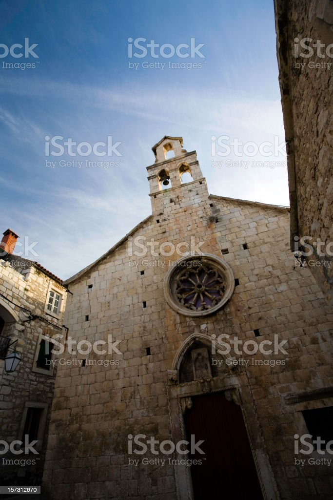 Hvar Town Church Stock Photo - Download Image Now - iStock
