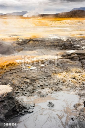 solfatara, hverarönd - namafjall, iceland