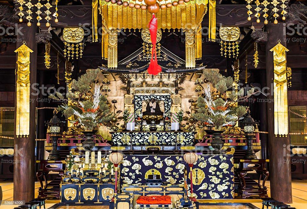Hyakumanben Chionji Temple, Kyoto, Japan stock photo