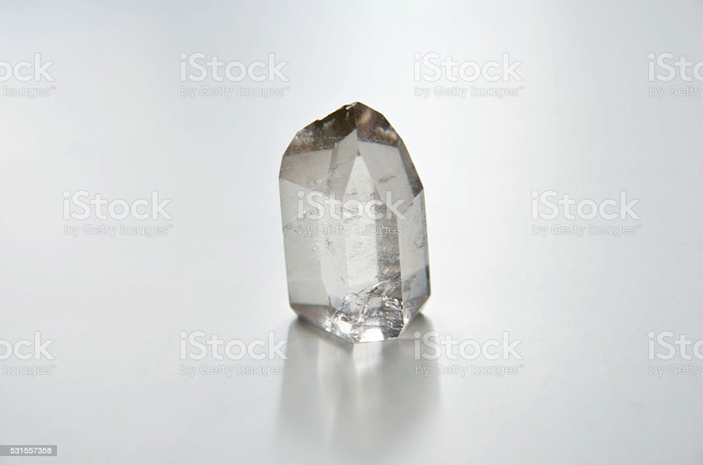 Hyaline Quartz stock photo
