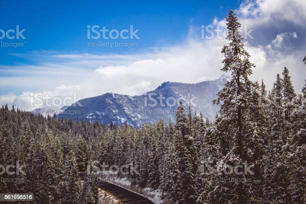 Photo of Hyalite Canyon Snow