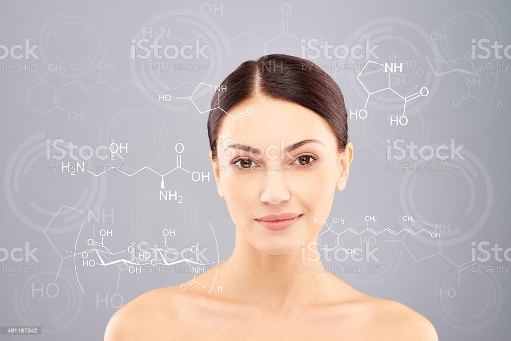 Hyaluronic acid stock photo