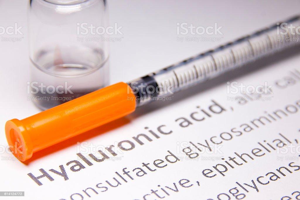 Hyaluronic ácido - foto de stock