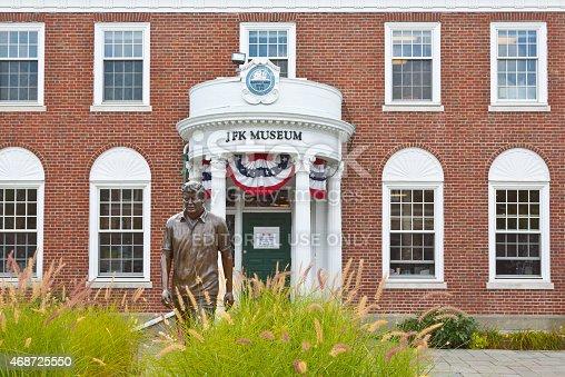 istock JFK (John F. Kennedy) Hyannis Museum, Cape cod, Massachusetts. 468725550