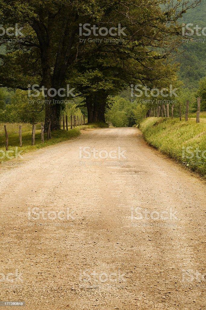 Hyatt Lane - Smoky Mountains stock photo