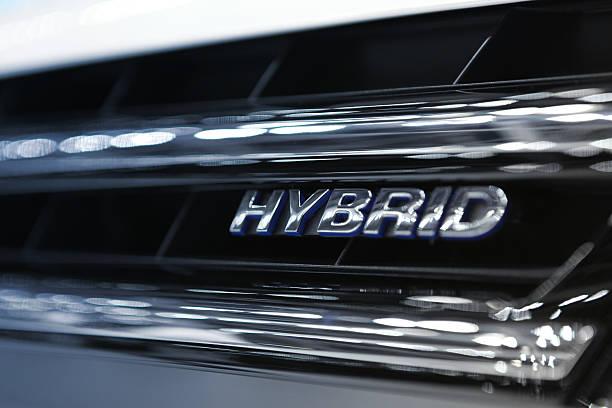hybrid-auto-motor - pictafolio stock-fotos und bilder