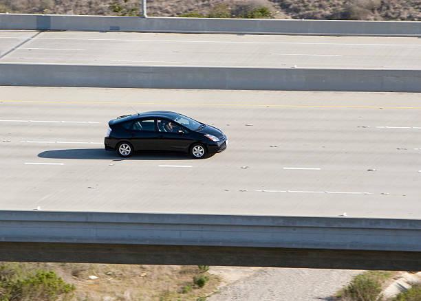 hybrid car (schwarz - hecktürmodell stock-fotos und bilder