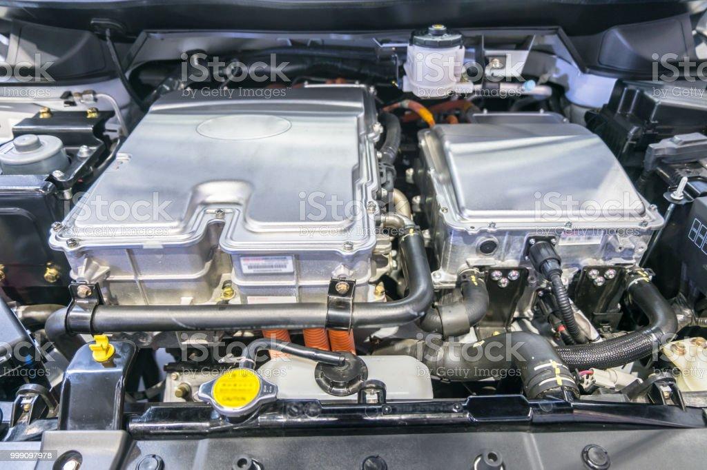 Hybrid engine car new innovation and Battery hybrid