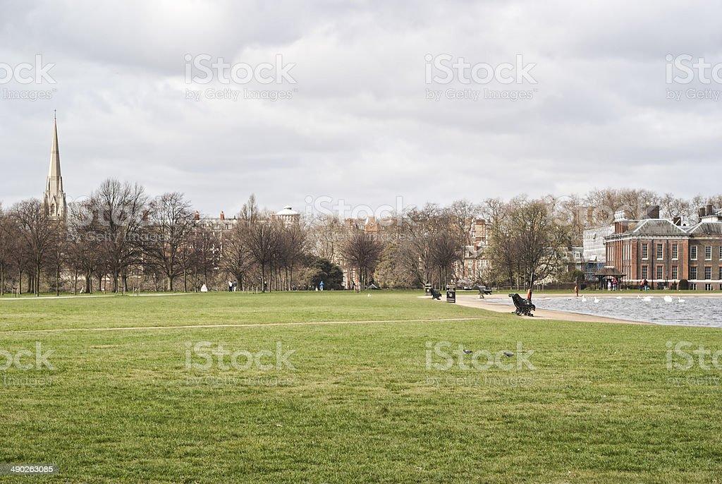 Hyde Park, i Kensington Gardens, a Londra - foto stock
