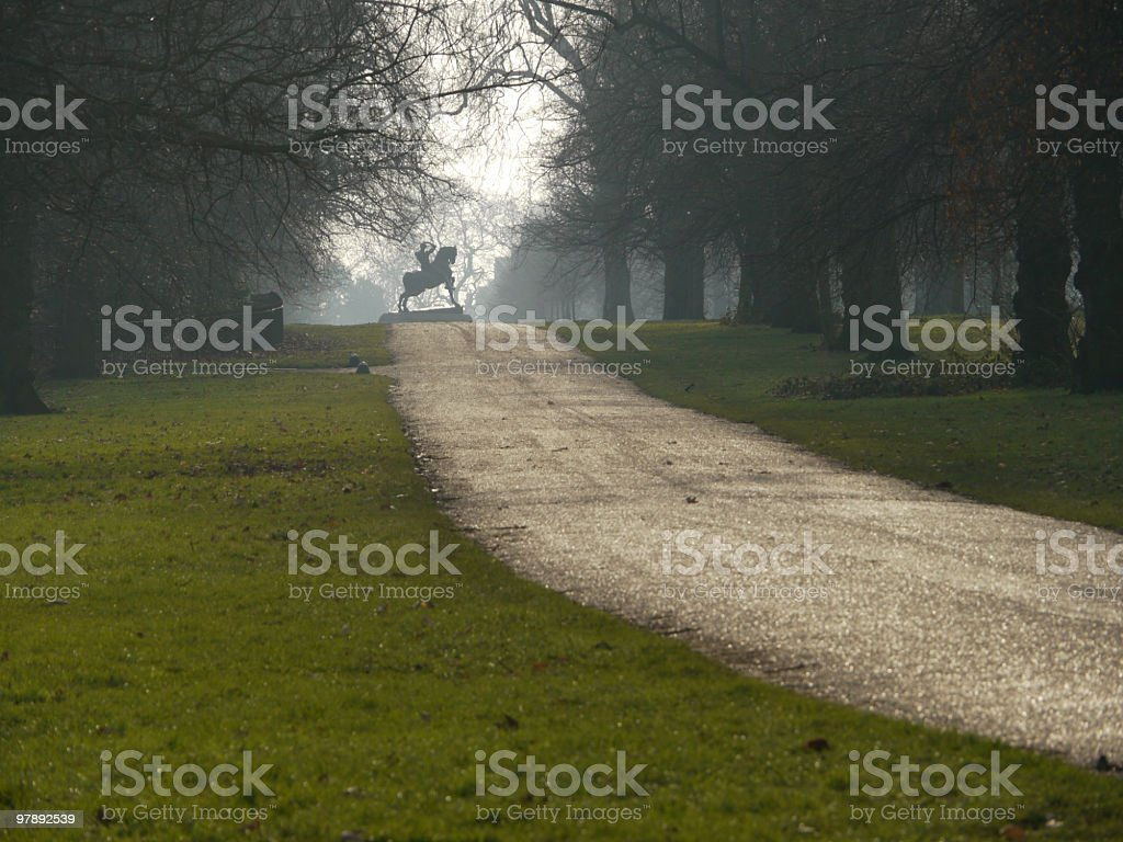 Hyde Park - Physical Energy royalty-free stock photo