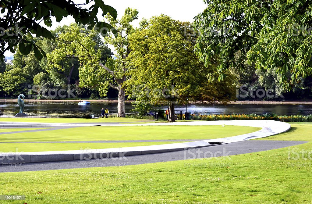 Hyde Park royalty-free stock photo