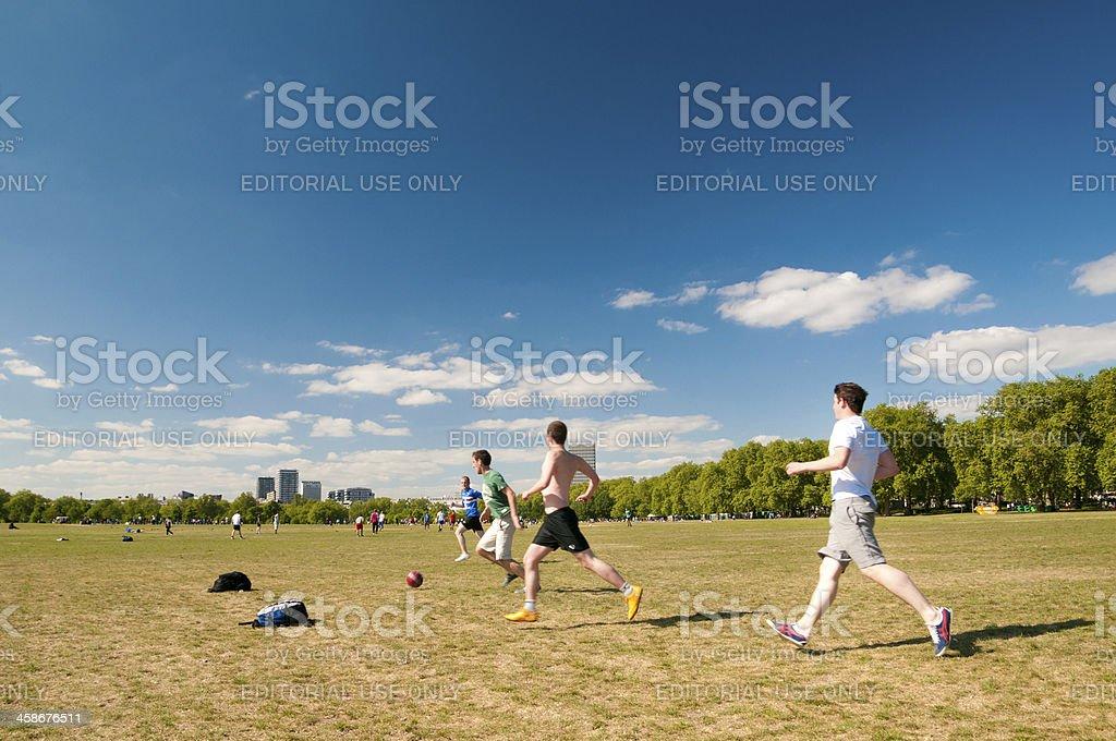 Hyde Park Fußball – Foto