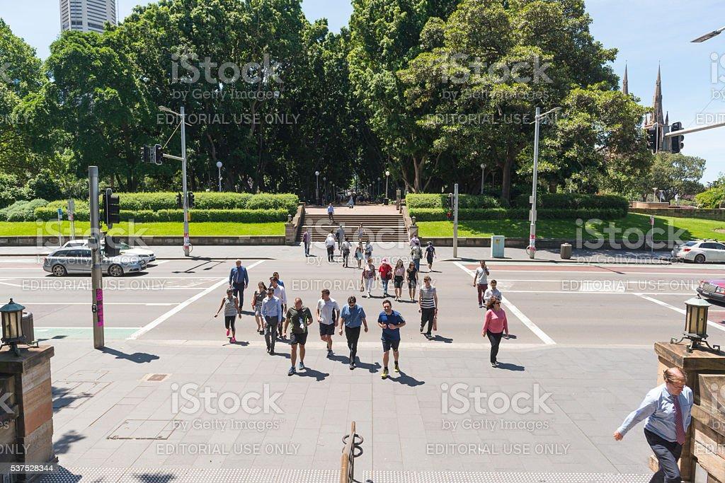 Hyde Park, Sydney Australia stock photo