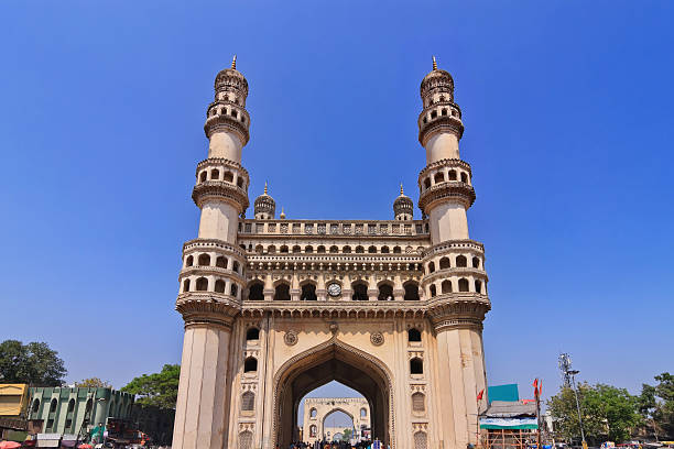 Hyderabad India Charminar, Hyderabad, India char minar stock pictures, royalty-free photos & images