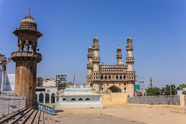 Hyderabad, India Charminar, Hyderabad, India char minar stock pictures, royalty-free photos & images