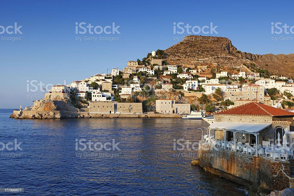 Hydra, Greece stock photo