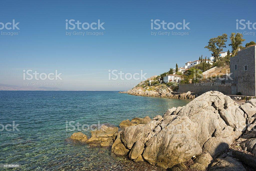 Hydra Island, Greece royalty-free stock photo