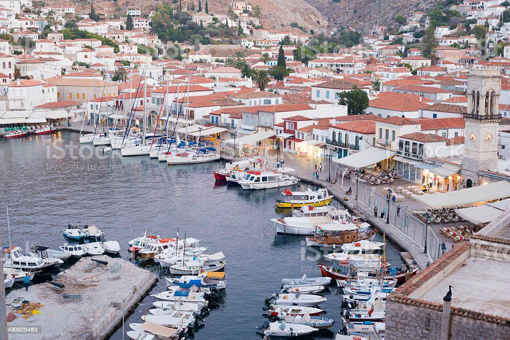 Hydra Island, Greece stock photo