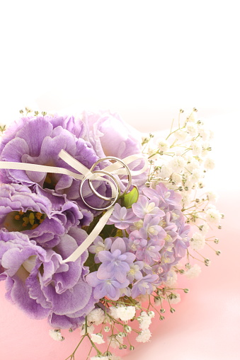 Hydrangea And Baby Breath Flower Stock Photo - Download Image Now