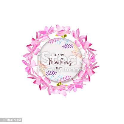 istock Hydrangea flower feature editable design 1215315263