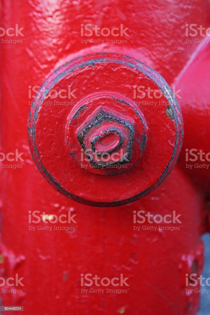 Hydrant Detail royalty-free stock photo