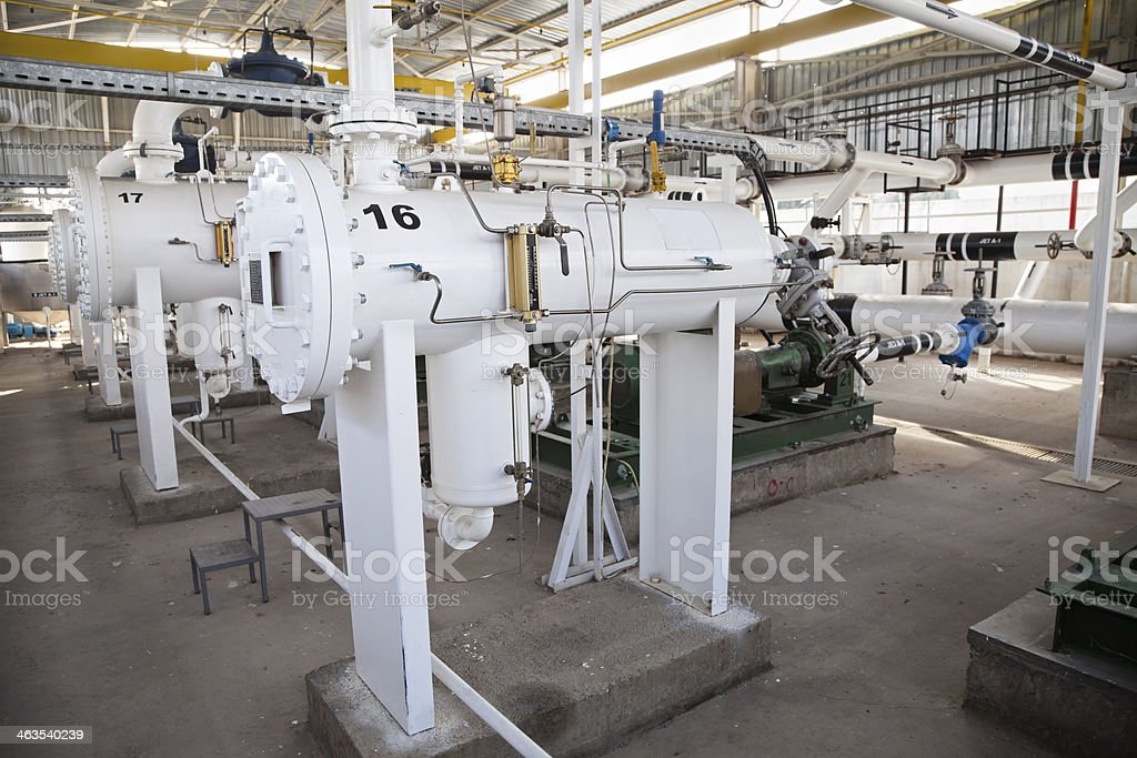 Hydrant Fuel Pump Station royalty-free stock photo