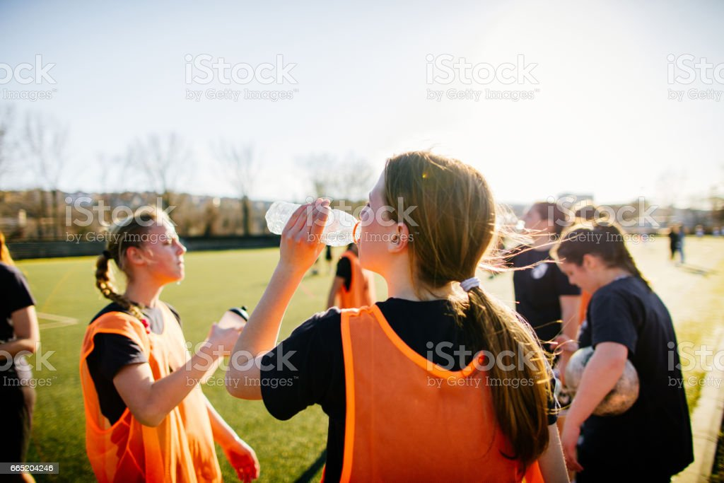 Hydration is important! stock photo