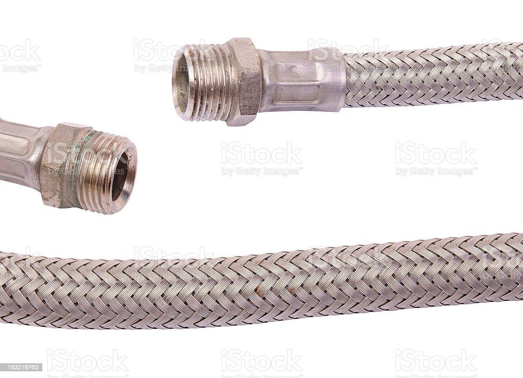 Hydraulic hose stock photo