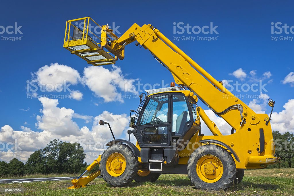 Hydraulic Lift stock photo
