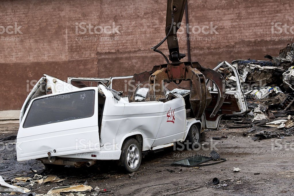 Hydraulic  machine using for lifting heavy objects royalty-free stock photo