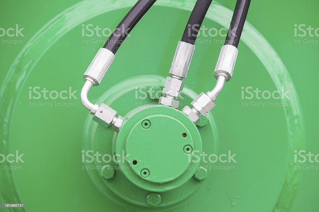 hydraulic royalty-free stock photo