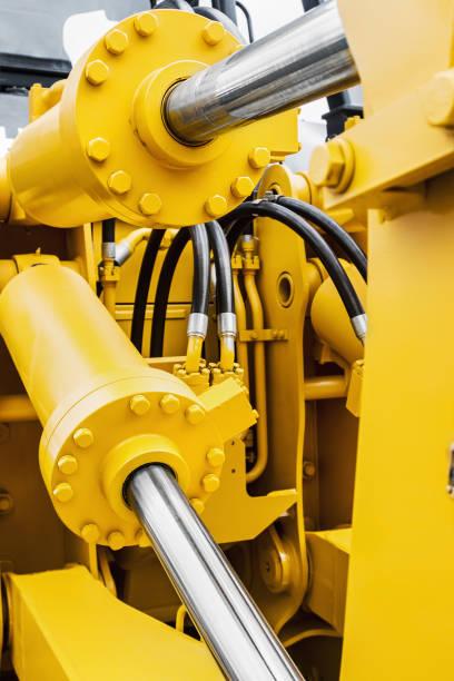 Hydraulische Kolben-System für Traktoren, Bagger, Bagger – Foto