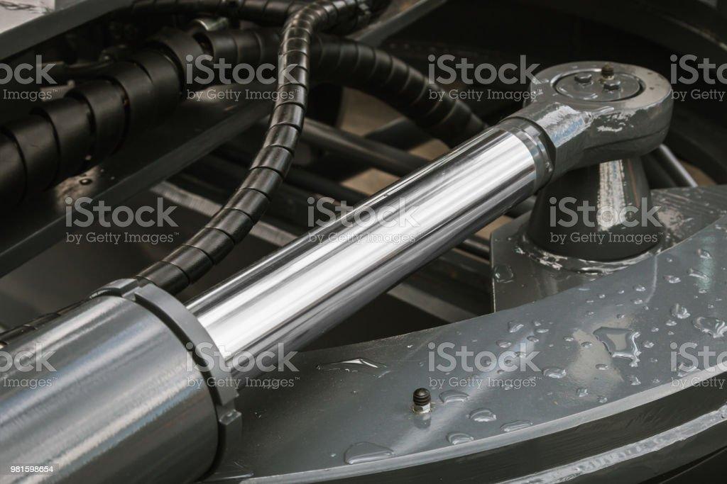 Hydraulische Kolben-System für Traktoren, Bagger – Foto