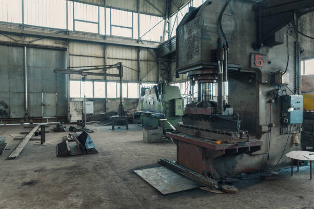 Hydraulikpresse für Metall – Foto