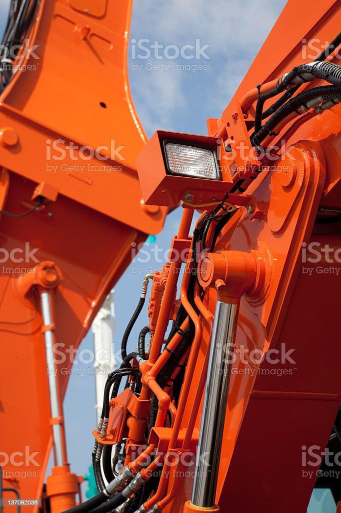 hydraulic system royalty-free stock photo