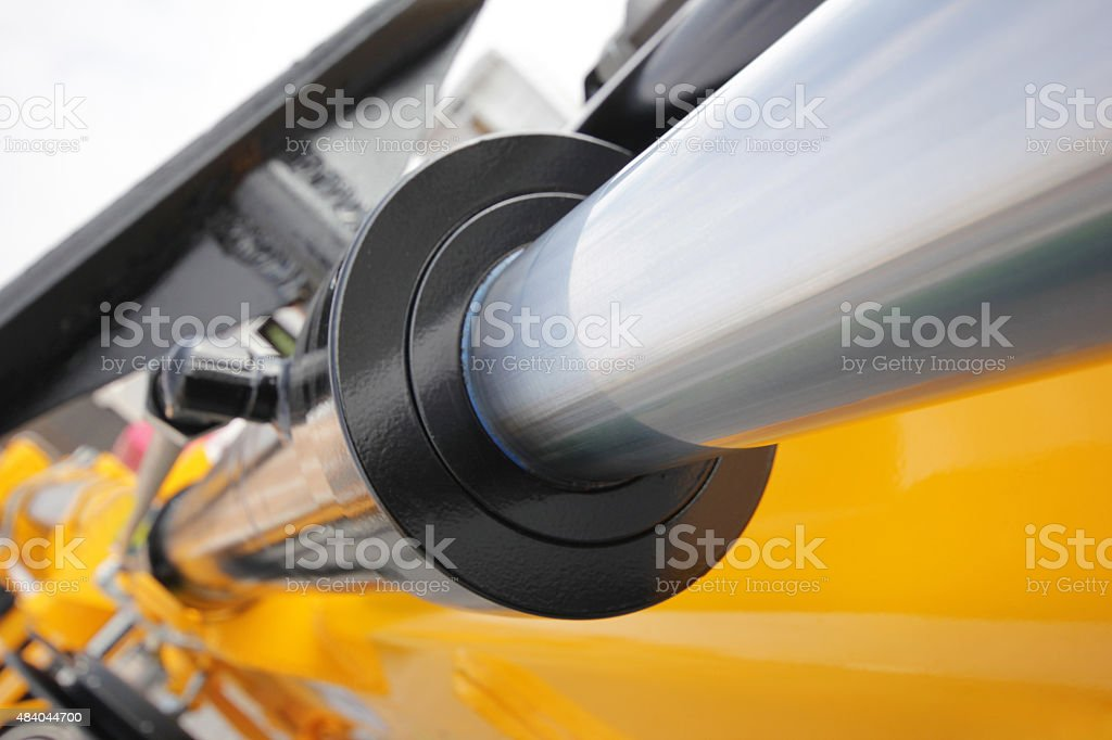 hydraulic system stock photo